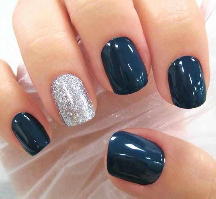 Never been a fan of this trend, but I do love this navy blue.