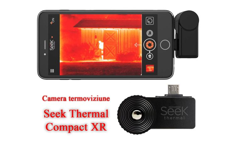 Camera termoviziune Seek Thermal CompactXR – Verifica mediul in care te aflii!  viewnews.ro