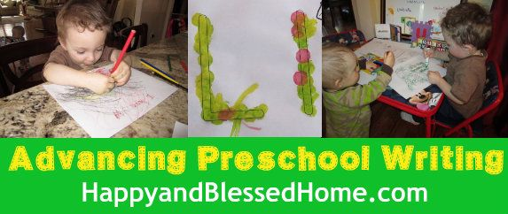 Advancing Preschool Writing Skills...a checklist of developmental skills