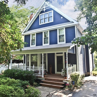 Folk Victorian Traditional Exterior And Curb Appeal On Pinterest