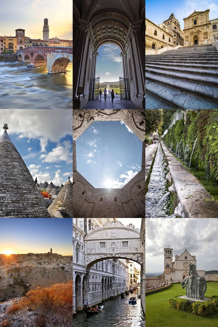 #Italy, #Unesco Humanity Heritage: here are the photos of all its sites by #CuboImages