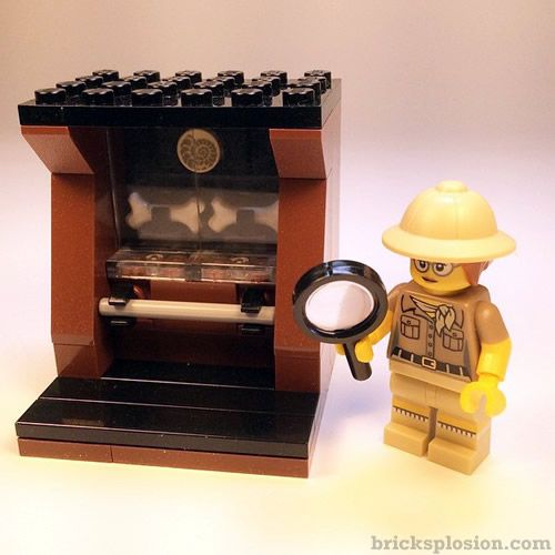 Lego Minifigure Series 13 Vignette Habitat for the Paleontologist