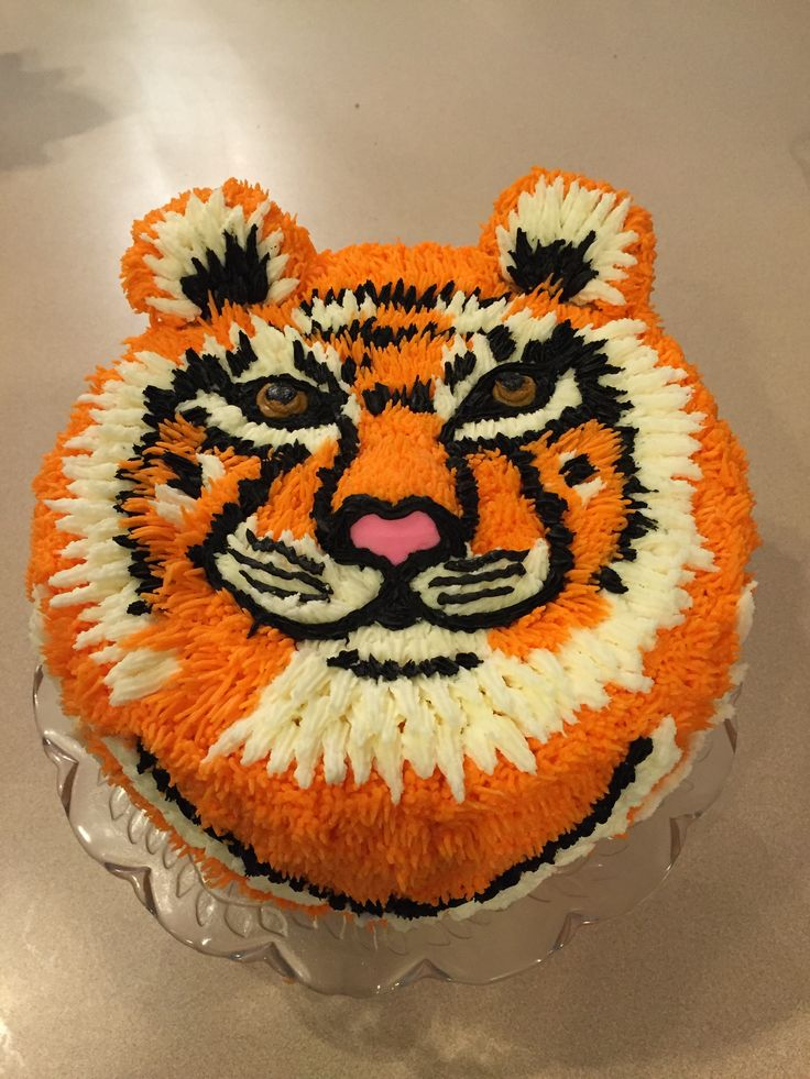 Best  Tiger Cake Ideas On Pinterest Cake Decorating Supplies - Clemson birthday cakes