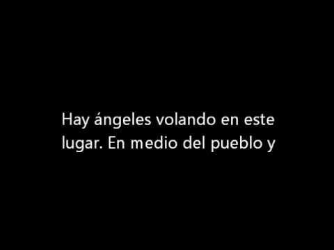 Hay angeles volando en este lugar (Con Letra) - YouTube