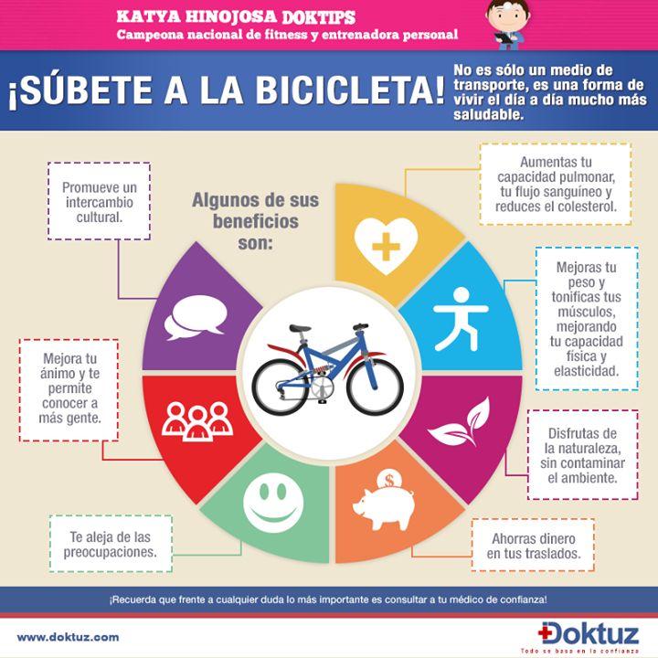 Beneficios de montar bicicleta estilo de vida pinterest - Beneficios de la bici eliptica ...