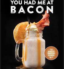 Image result for coffee club bacon milkshake