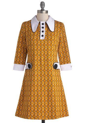 Vinyl Fantasy Dress, #ModCloth