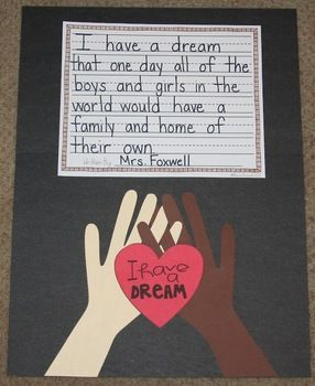 I Have a Dream {a Martin Luther King Jr. Craftivity}