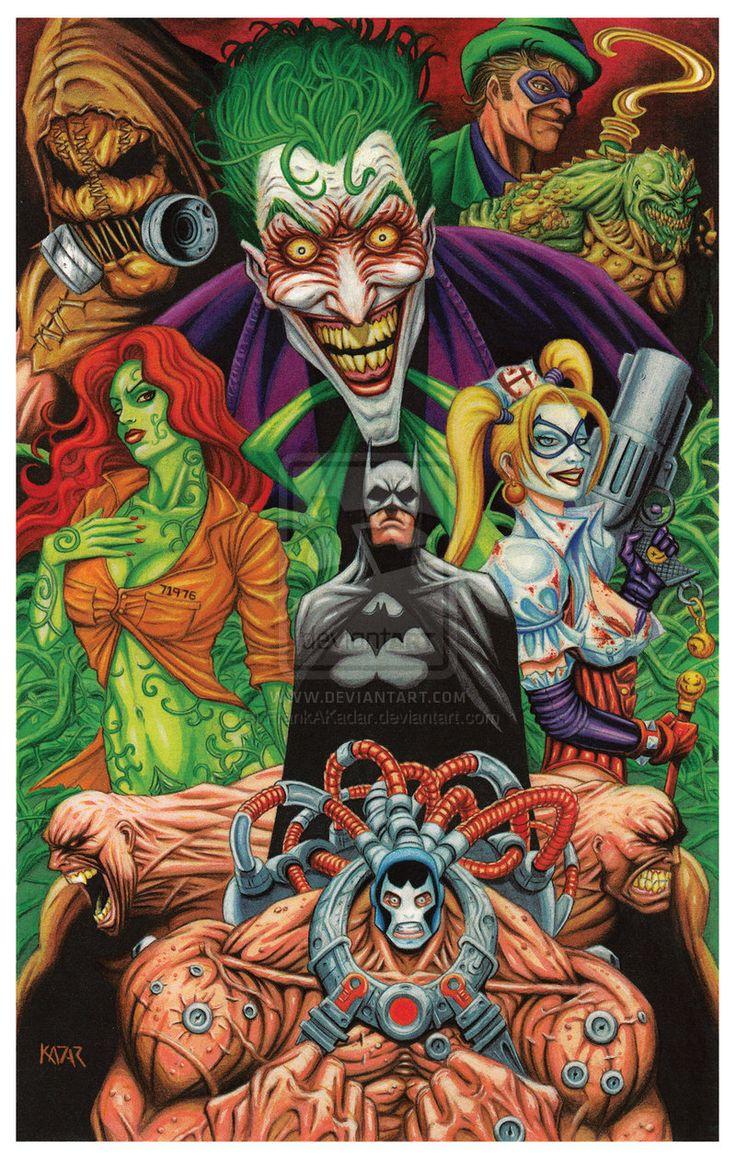Batman: Arkham Asylum Tribute by FrankAKadar.deviantart.com Yo jugué Batman: Arkham Asylum y debo decirles que es uno de los mejores juegos que he jugado, con una historia profunda y muchos personajes entrañables con sus personalidades intactas y un modo de juego atrayente, y sobre todo, los villanos. Sólo por ellos vale la pena jugarlo.