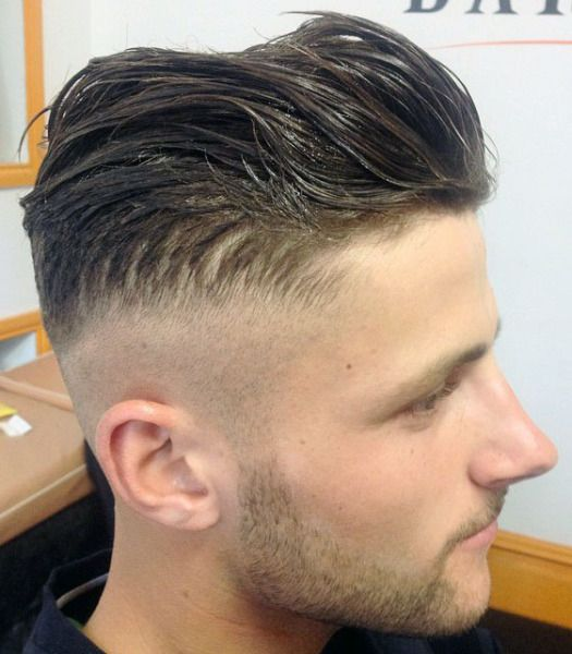 Admirable 17 Best Images About Hair Fades Barbers On Pinterest Slicked Hairstyles For Men Maxibearus