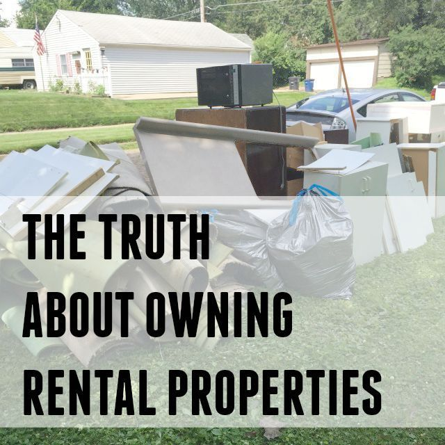 The good, the bad and the ugly of owning rental properties. Tips and thoughts from an experienced property owner. renting a house #frugality #savingmoney