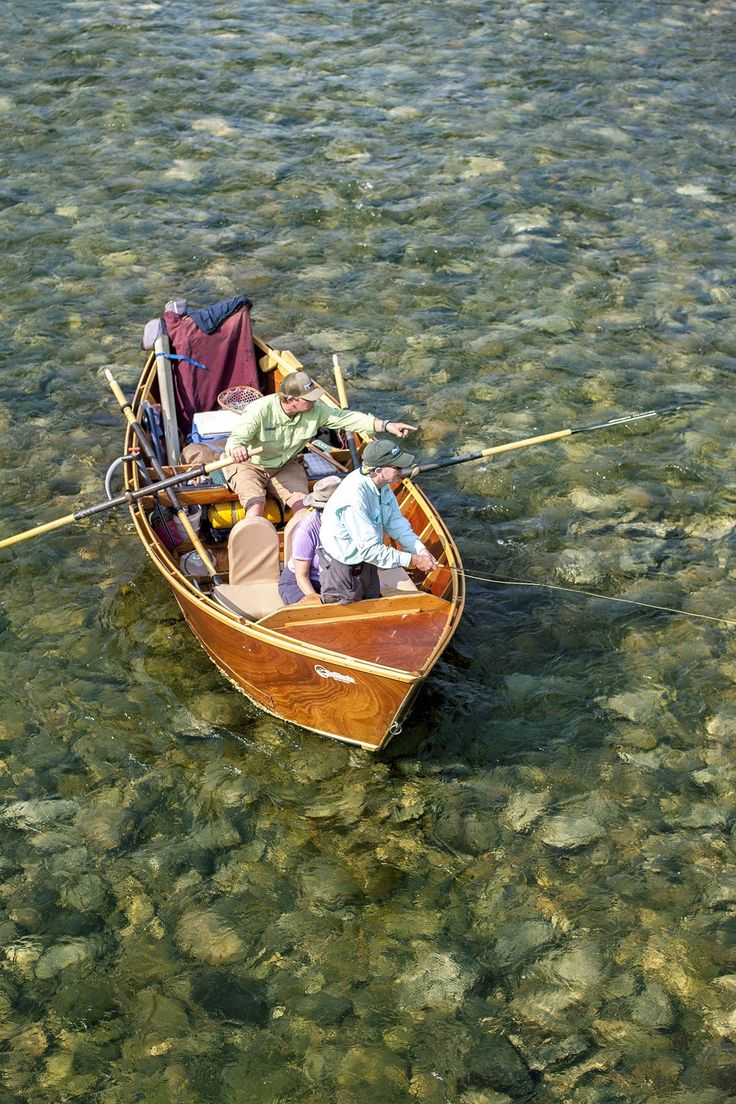 17 best wooden drift boats images on pinterest wood for Best river fishing boat