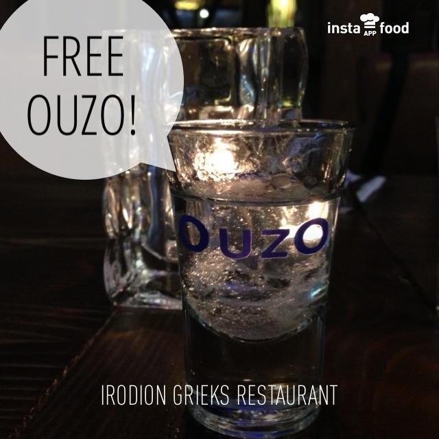 Free Ouzo!
