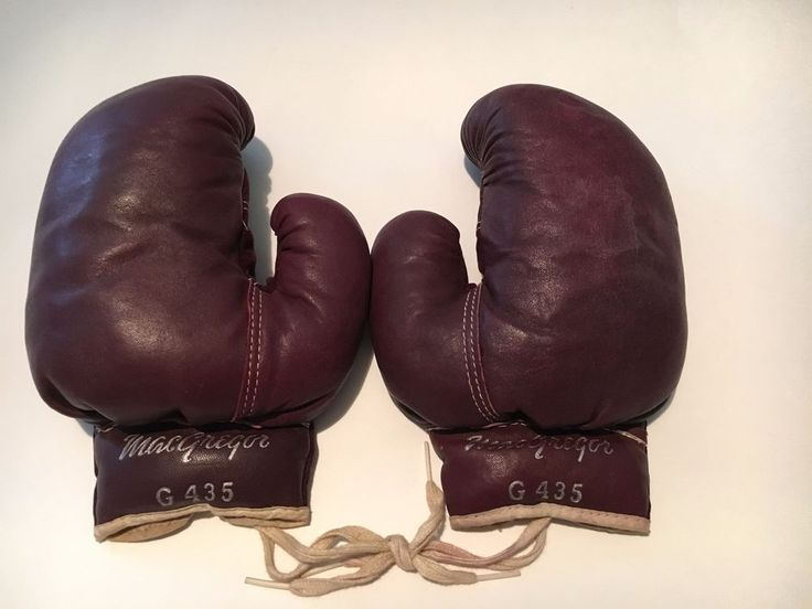 Vintage MacGregor Youth Boxing Gloves -- G435
