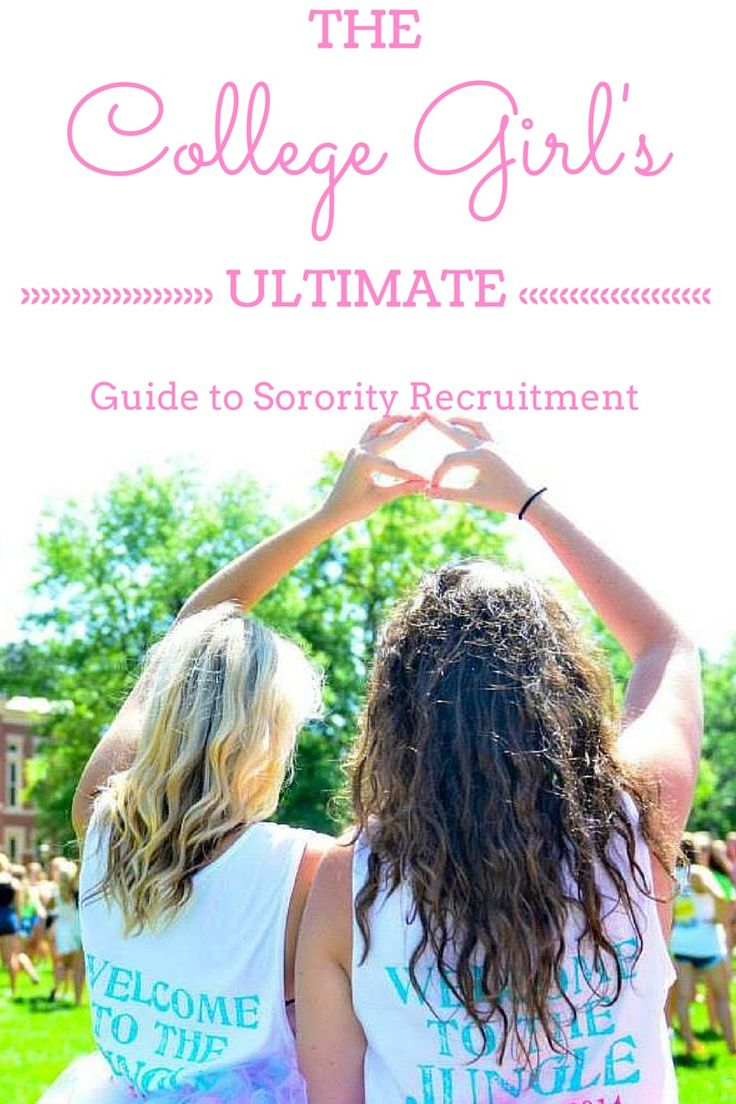 This blog post is honestly the ULTIMATE guide to recruitment week. Everything from tips for before, during, and after, to descriptions of the days and what to wear. It's a great guide for PNMs to read.
