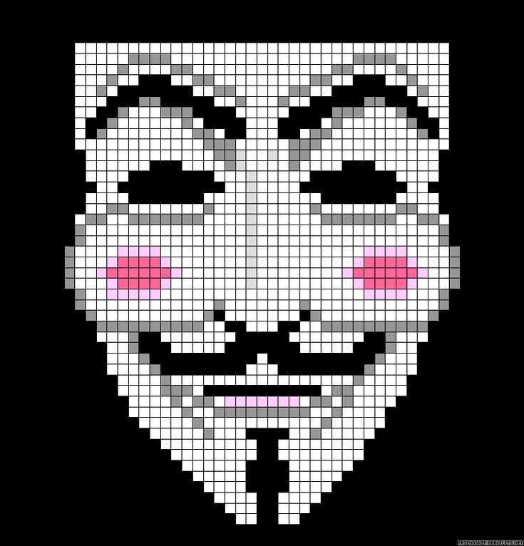 Free Mask Cross Stitch Pattern