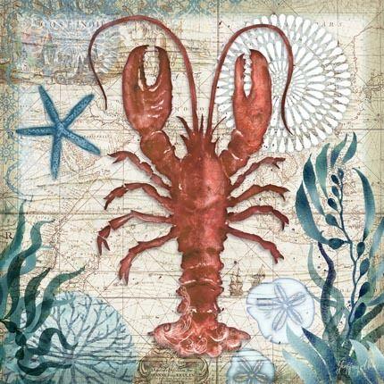 Dockside Lobster by Geoff Allen | Ruth Levison Design
