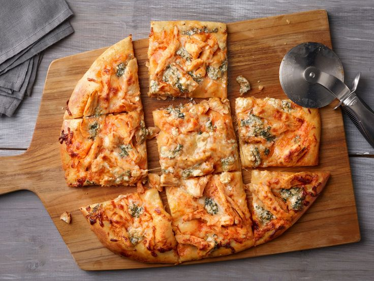 Buffalo Chicken Pizza recipe from Food Network Kitchen via Food Network