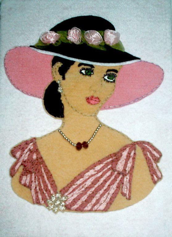 Moldes e Riscos para patchwork embutido   Artesanato & Humor de Mulher