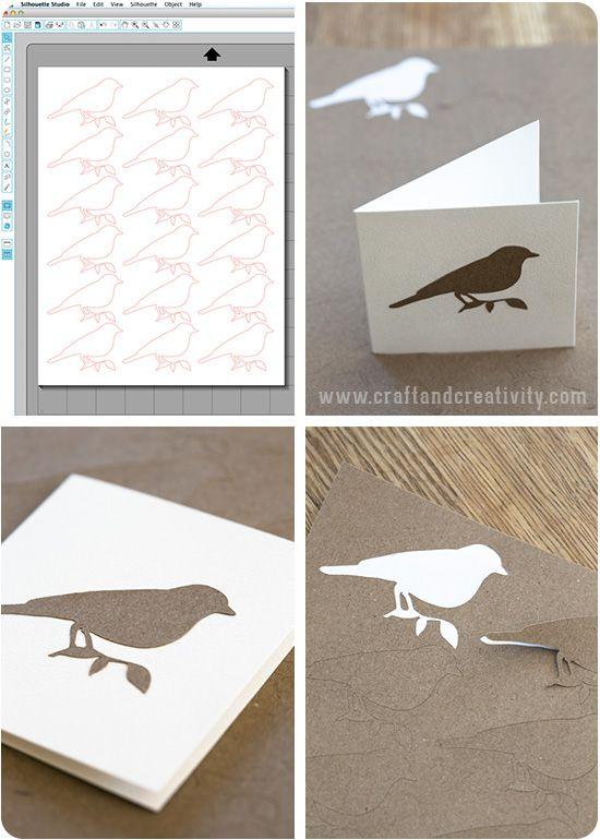 Craft paper stickers - by Craft & Creativity