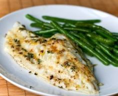 Garlic Lemon Cod - Healthy Fish Recipes