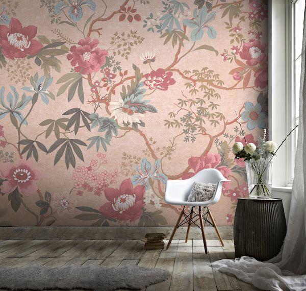 graham & brown behang als muurschildering