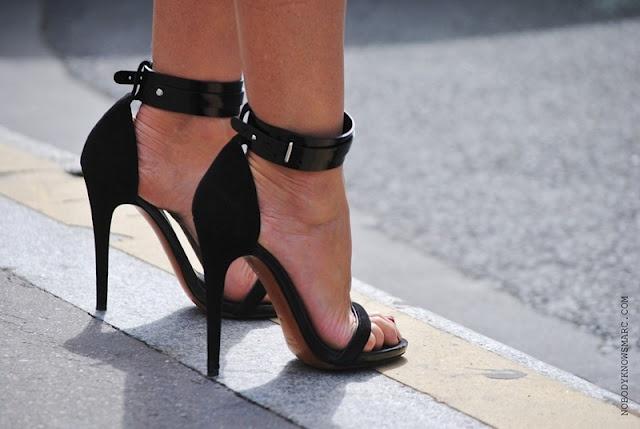Celine Ankle Straps Sandals: Fashion, Style, Gorgeous Shoes, Black Shoes, Black Heels, Sandals, High Heels, New Shoes, Ankle Straps