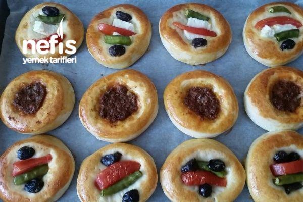 Pastane Usulü Mini Pizza