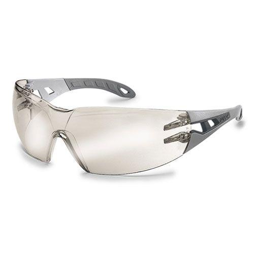 Schutzbrille silberspiegel 52% grau bei Kokott.com