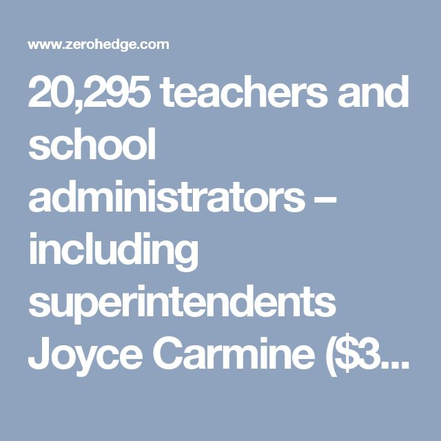 20,295 teachers and school administrators – including superintendents Joyce Carmine ($398,229) at Park Forest School District 63, Troy Paraday ($384,138) at Calumet City School District 155, and Jon Nebor ($377,409) at Indian Springs School District 109. Four of the top five salaries are in the south suburbs – not the affluent north shore.