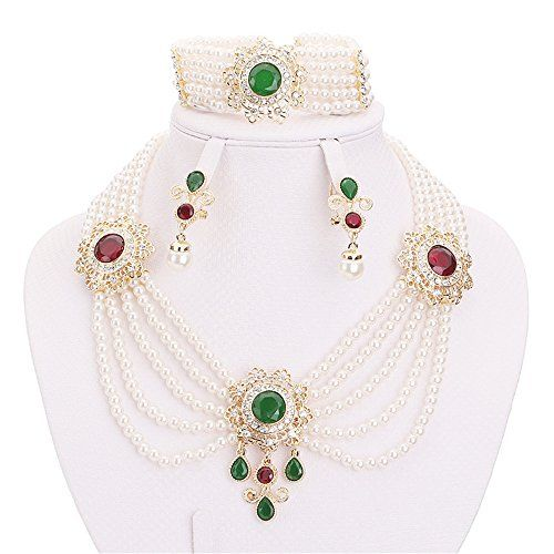 Moochi 18K Gold Plated Simulated Pearl Beads Green Red Ro... https://www.amazon.com/dp/B01AIMILY6/ref=cm_sw_r_pi_dp_x_lLwgybZ6ET5WA