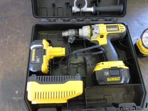 Dewalt 18V Cordless Drill - Available on Online Auction Ending 6/1/15 - Oshkosh, Wisconsin - Hansen & Young, Inc.