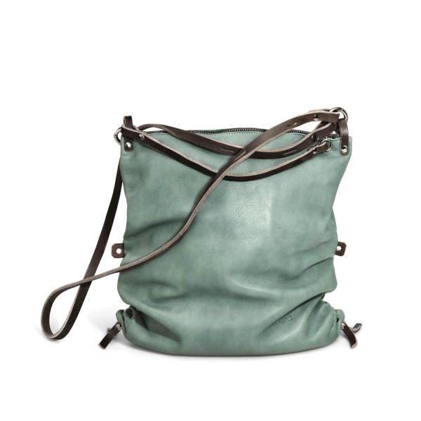 mint leather bag - Soft Summer