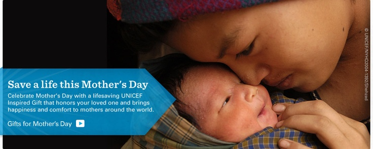 Mother's day campaign by UNICEF