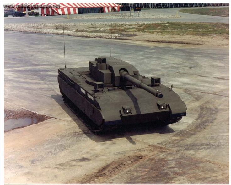 Block III M1 Abrams, the Main Battle Tank configuration for the Armored Systems Modernization program. Developed from the mid-80s, the ASM program was to have prototypes built by 1990 and in production by 1997.