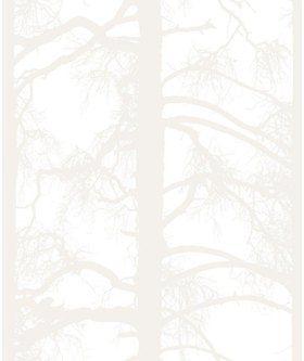 Kuitutapetti Kelohonka valkoinen 4985-1 0,53 x 11,2m (5,9 m²)