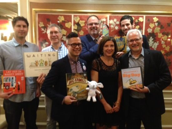Authors at the Fourth Annual SLJ/AAP Librarian Dinner | BEA 2015