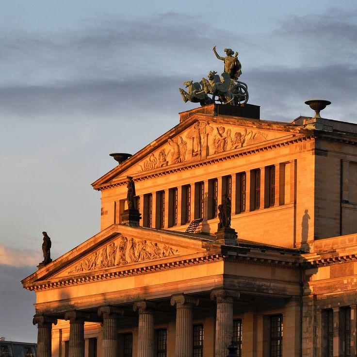 Karl Friedrich Schinkel. Schauspielhaus. Berlin. 1819-21 #architecture #berlin