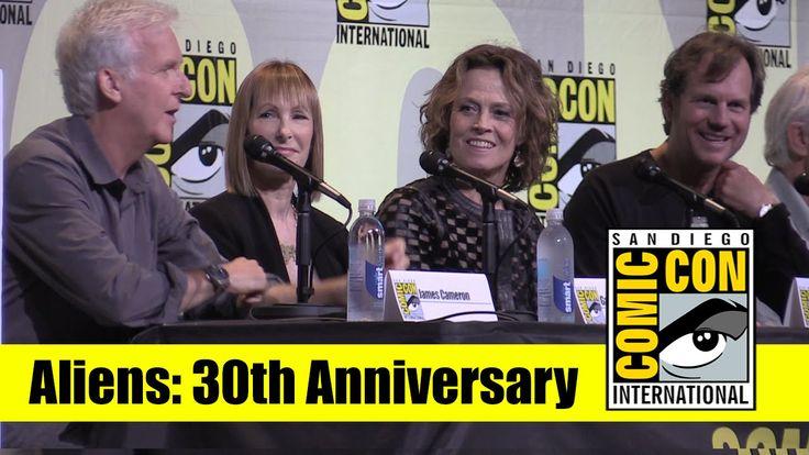 Aliens | 2016 Comic Con Full Panel (James Cameron, Sigourney Weaver, Bil...