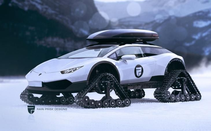 Известные спортивные автомобили в необычном облике