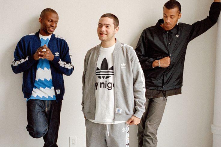 Picture of NYの新鋭ラップグループ Ratking による adidas Originals by NIGO ルックブック