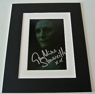 Geraldine somerville signed #autograph 10x8 #photo display #harry potter film & c,  View more on the LINK: http://www.zeppy.io/product/gb/2/391277675281/