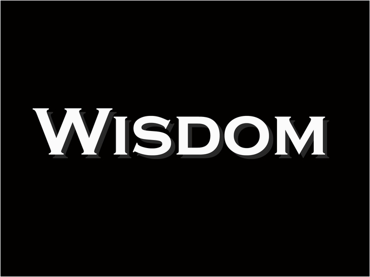 Wisdom is the principal thing; therefore get wisdom. Proverbs 4:7
