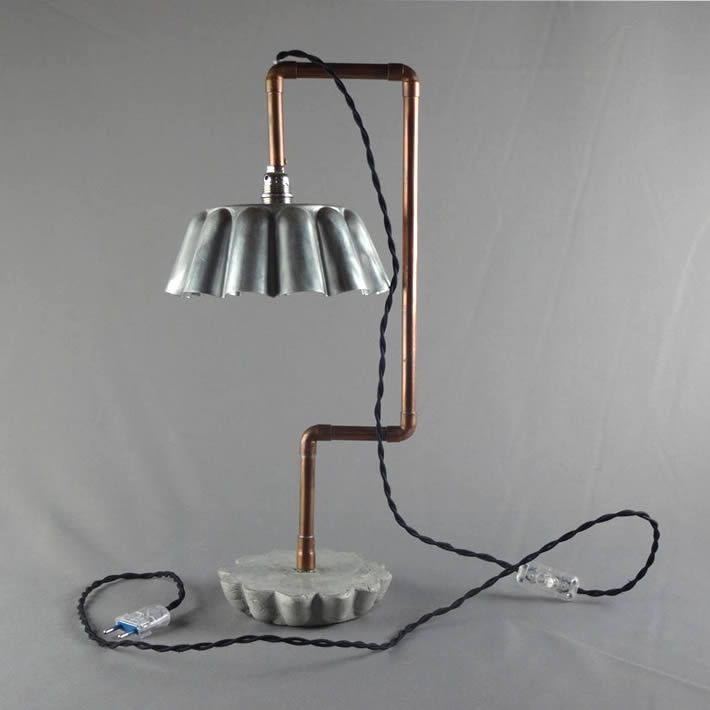DENIS PAPIN: baking mould table lamp by Le Siecle Des Lumieres – upcycleDZINE