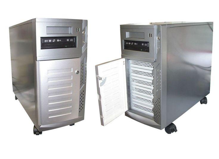 MIDITOWER AUCH F. RACK DUAL XEON 2x 2600 SERVER 6GB 1TB FP S-ATA RAID DVD-RW SE2 – Firmennetzwerke und Server