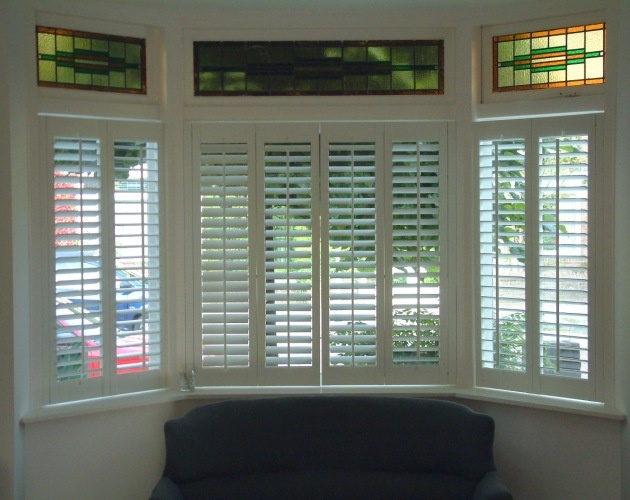 Shutters voor erker - Jasno Shutters & Blinds