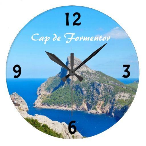 Cap de Formentor - Mallorca Wall Clock