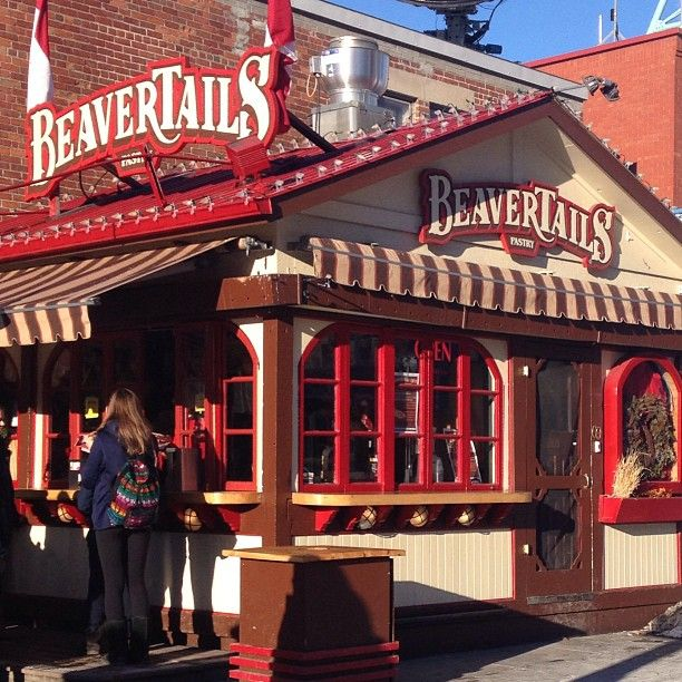 A BeaverTail, a must-have pastry treat in Ottawa!