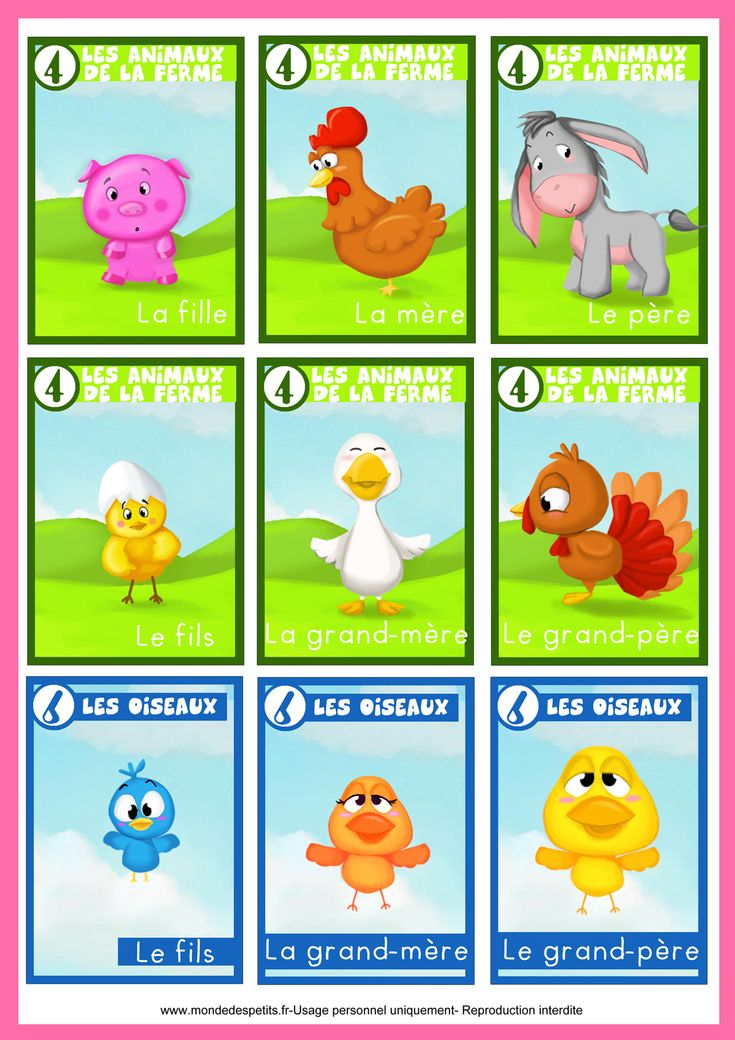 jeu des 7 familles animaux jeux pour enfants pinterest jeux de jeu et familles. Black Bedroom Furniture Sets. Home Design Ideas
