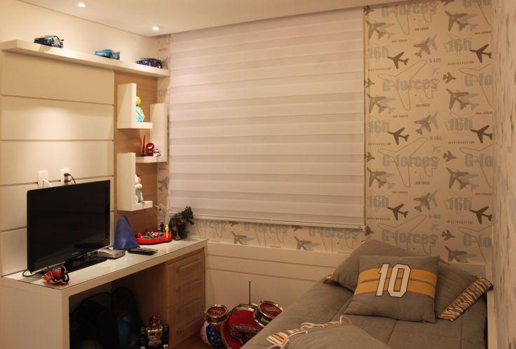 Dormitório infantil masculino